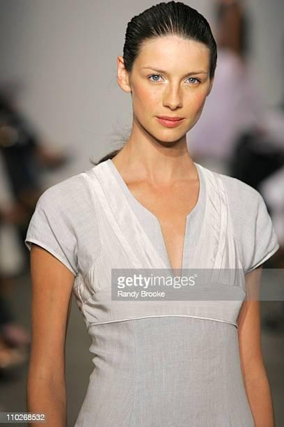 Caitriona Balfe wearing Narciso Rodriguez Spring 2006