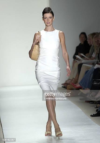 Caitriona Balfe wearing Oscar de la Renta Spring 2004