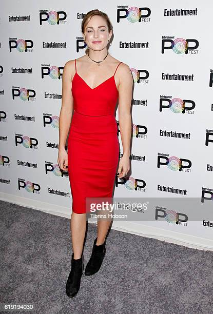 Caity Lotz attends Entertainment Weekly's Popfest at The Reef on October 29 2016 in Los Angeles California