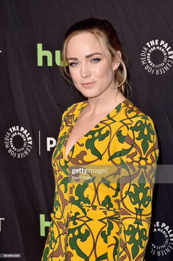 Caity Lotz attends PaleyFest Los Angeles 2017 - CW's 'Heroes & Aliens: Featuring Arrow, The Flash, Supergirl, and DC's Legends of Tomorrow' at Dolby Theatre on March 18, 2017 in Hollywood, California.