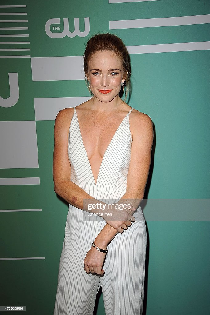 Caity Lotz & Katie Cassidy - 2015 CW Upfront Party in New