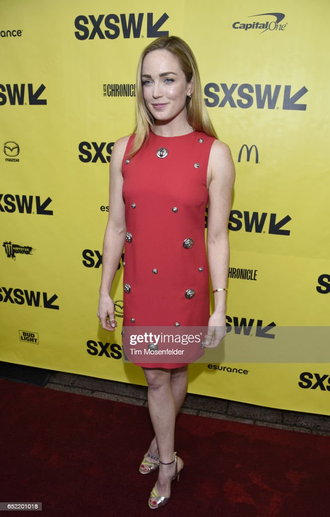 Caity Lotz attends the Film premiere of 'Small Town Crime' during 2017 SXSW Conference and Festivals at the Paramount Theater on March 11, 2017 in Austin, Texas.