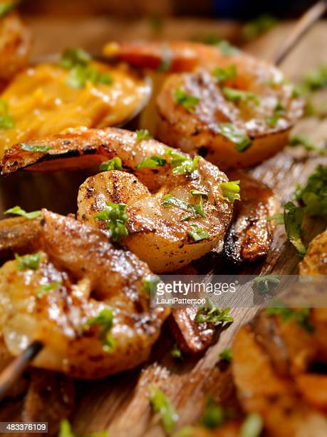 Cajun Gegrillter Shrimp