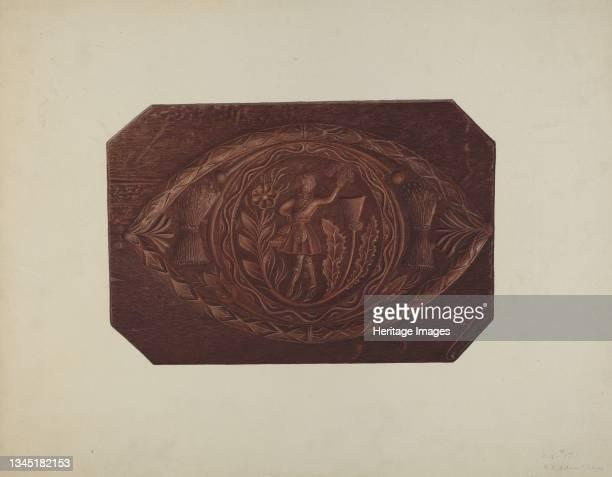 Cake Board, 1935/1942. Artist Robert Pohle.
