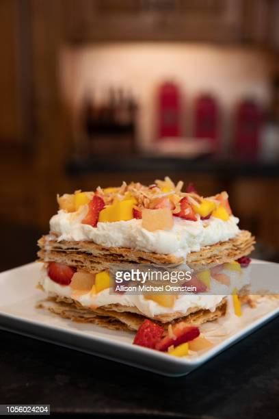 Cake Boss Buddy Valastro's ice cream lasagna is photographed for People Magazine on June 20 2018 in Montville New Jersey PUBLISHED IMAGE