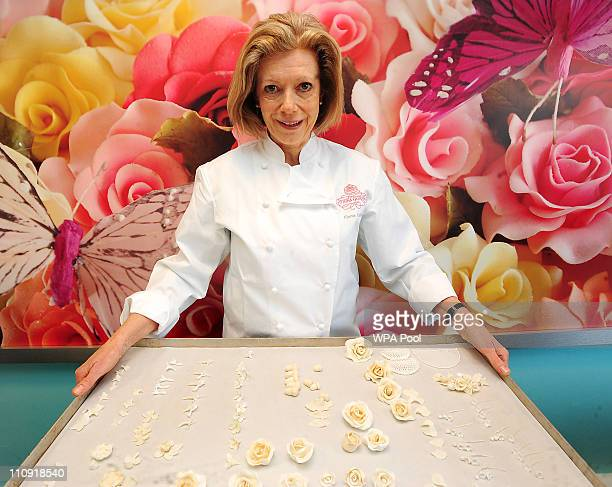 Cake designer Fiona Cairns, who has been commissioned by Prince William and Kate Middleton to create a multi-tiered traditional fruit cake for their...