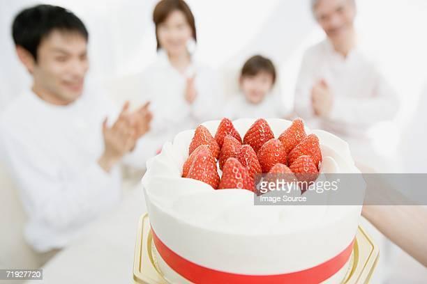 ケーキのファミリー