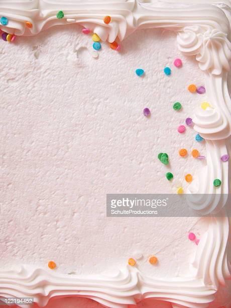 Cake Icing Close Up