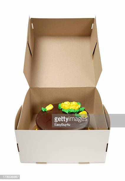 Cake in the box