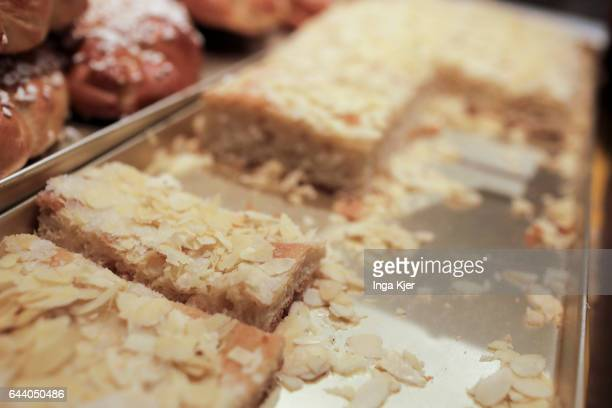 Cake in the display of a bakery on February 06 2017 in Berlin Germany