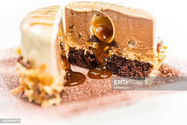 Cake inside view