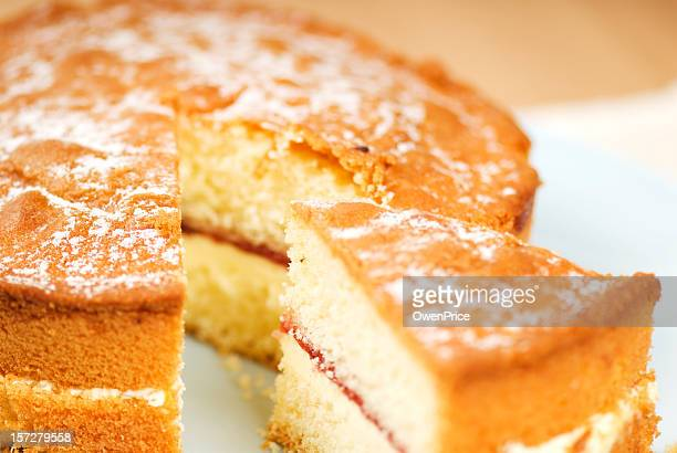 cake - sponge cake stock pictures, royalty-free photos & images