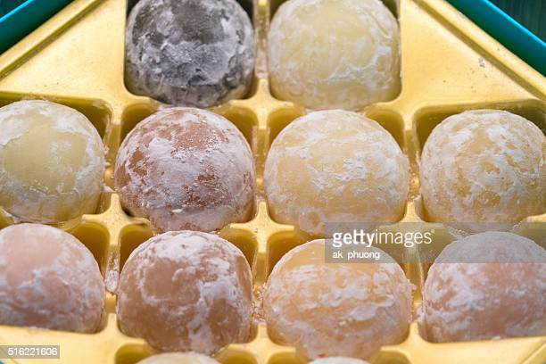 cake - mochi stock photos and pictures