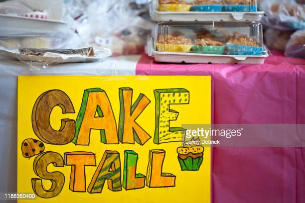cake stall - gala stock pictures, royalty-free photos & images