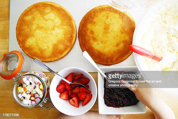 cake toppings and fillings - gregoria gregoriou crowe fine art and creative photography. stockfoto's en -beelden