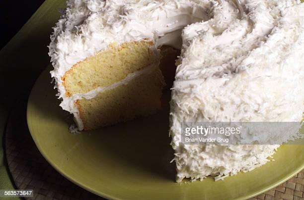 Cake –– White Christmas Chiffon Cake