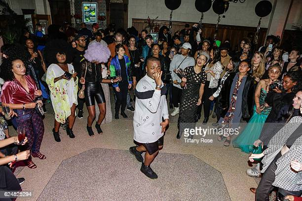 Cakes Da Killa performs at the AFROPUNK Fancy Dress Ball during the Red Bull Sound Select 30 Days in LA at The MacArthur on November 20 2016 in Los...