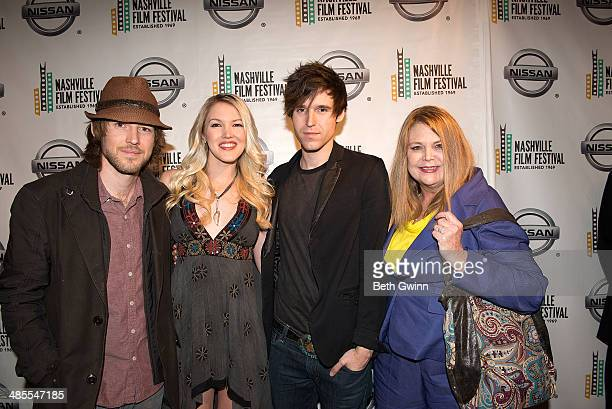 Cal Campbell Ashley Campbell Shannon Campbell and Kelli Campbell attends day 2 of the 2014 Nashville Film Festival at Regal Green Hills on April 18...