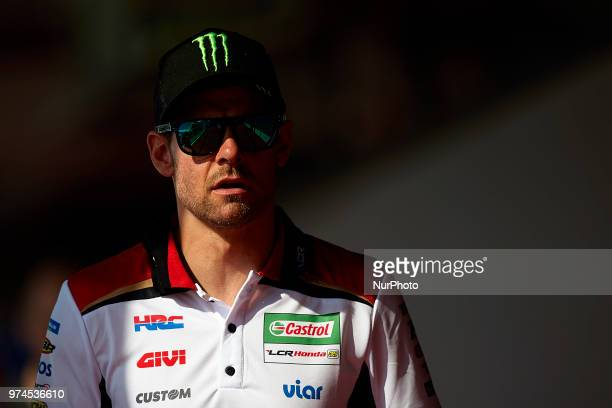 Cal Crutchlow of England and LCR Honda Castrol during the press conference before of the Gran Premi Monster Energy de Catalunya Circuit of Catalunya...