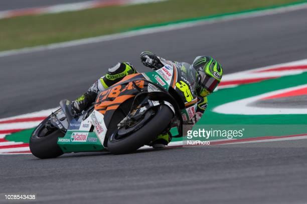 Cal Crutchlow of LCR Honda Castrol during the free practice 2 of the OCTO Grand Prix of San Marino e della Riviera di Rimini at Misano World Circuit...