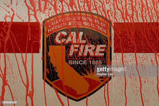 2015 valley fire california ストックフォトと画像 getty images
