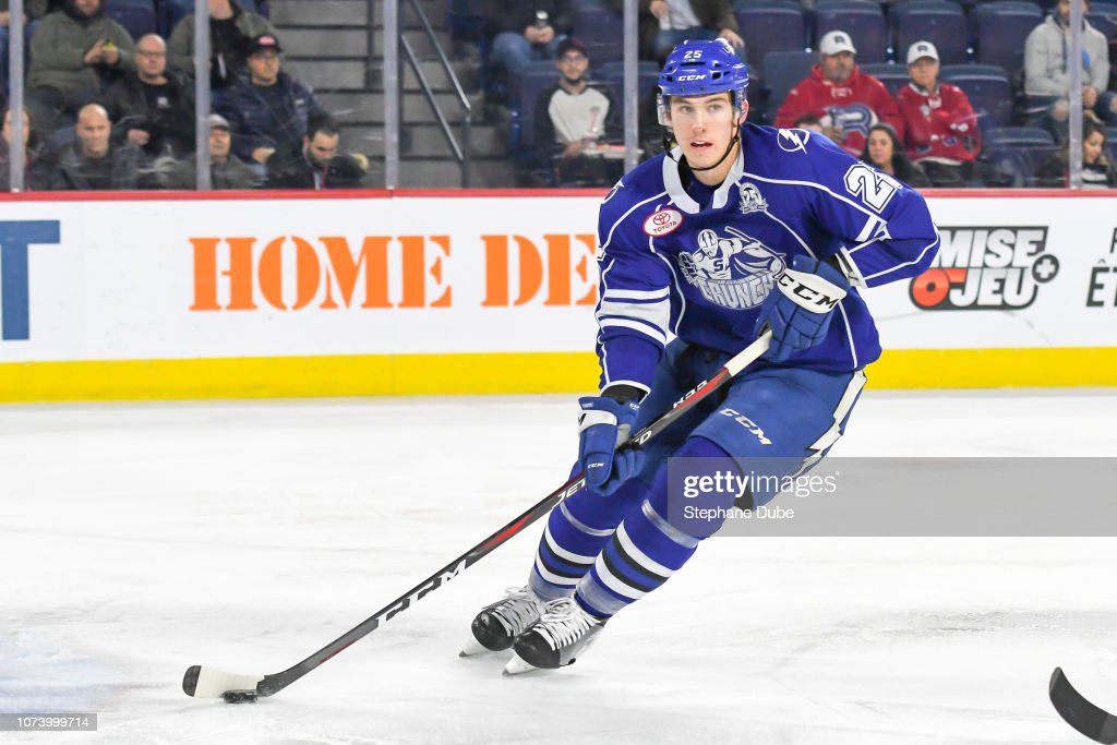 Syracuse Crunch v Laval Rocket : News Photo