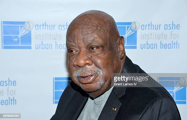 Cal Ramsey attends the Arthur Ashe Institute For Urban Health 21st Annual Black Tie and Sneakers Gala at Guastavino's on October 21 2015 in New York...