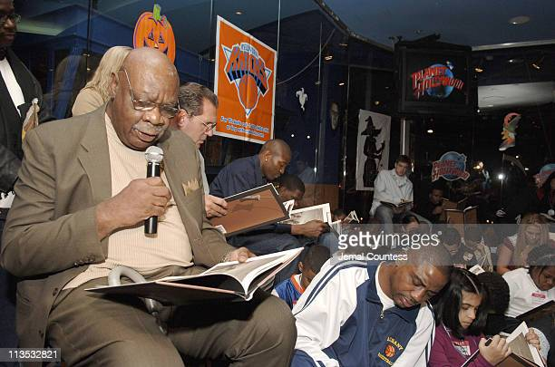 Cal Ramsey during New York Knicks TipOff ReadtoAchieve Campaign with Halloween Bash for Kids at Planet Hollywood at Planet Hollywood in New York City...