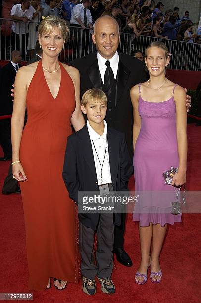 Cal Ripken Jr and family during 2002 ESPY Awards Arrivals at The Kodak Theater in Hollywood California United States