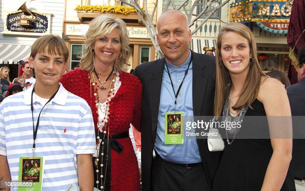 "Cal Ripken Jr. And family during World Premiere of Walt Disney Pictures' ""Pirates of the Caribbean: Dead Man's Chest"" - Arrivals at Disneyland in..."