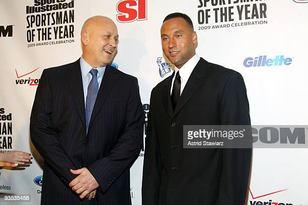 Cal Ripken Jr. And Sports Illustrated Sportsman of the Year for 2009 Derek Jeter attend the 2009 Sports Illustrated Sportsman of the Year Celebration...