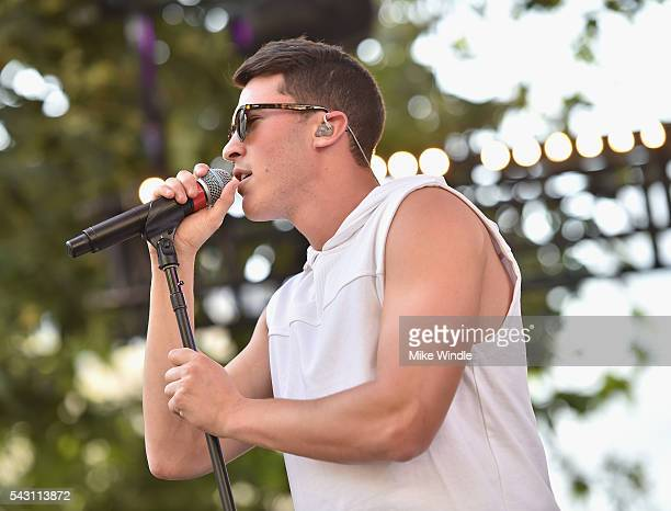 Cal Shapiro of Timeflies performs onstage at EpicFest 2016 hosted by LA Reid and Epic Records at Sony Studios on June 25 2016 in Los Angeles...