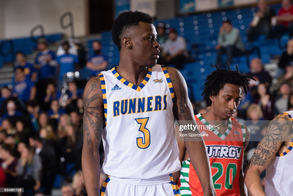 separation shoes 0256f 741b1 Cal State Bakersfield Roadrunners forward Taze Moore during ...