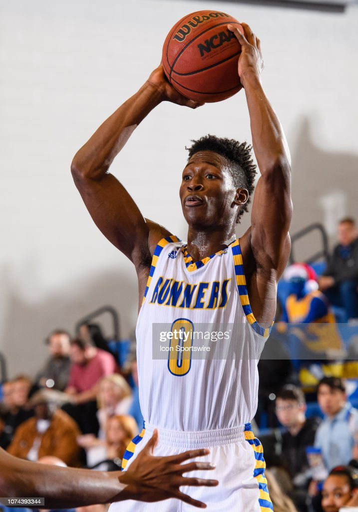 save off c19a9 afca5 Cal State Bakersfield Roadrunners guard Jarkel Joiner passes ...