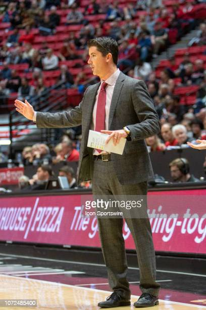Cal State Dominguez Hills Toros head coach Steve Becker during the game between the Cal State Dominguez Hills Toros and the San Diego State...