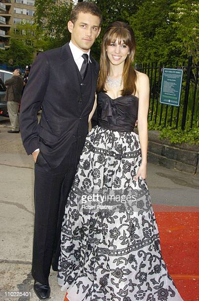 Cal Thomas and Christy Carlson Romano during New York City Hosts Reception in Honor of 32nd Annual Daytime Emmy Awards at Gracie Mansion in New York...