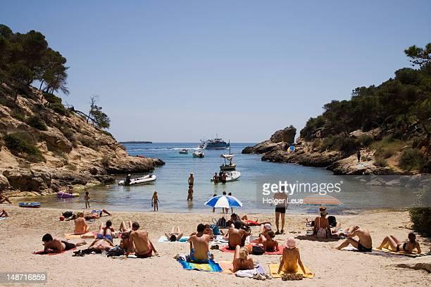Cala Cap Falco beach and cove.
