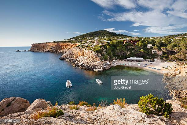 cala carbo - ibiza island stock pictures, royalty-free photos & images