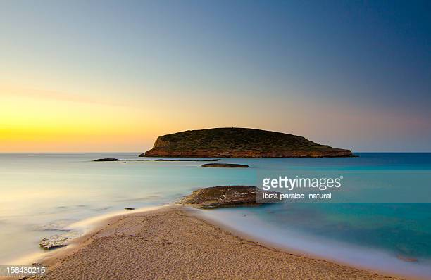 cala comte - ibiza island stock pictures, royalty-free photos & images