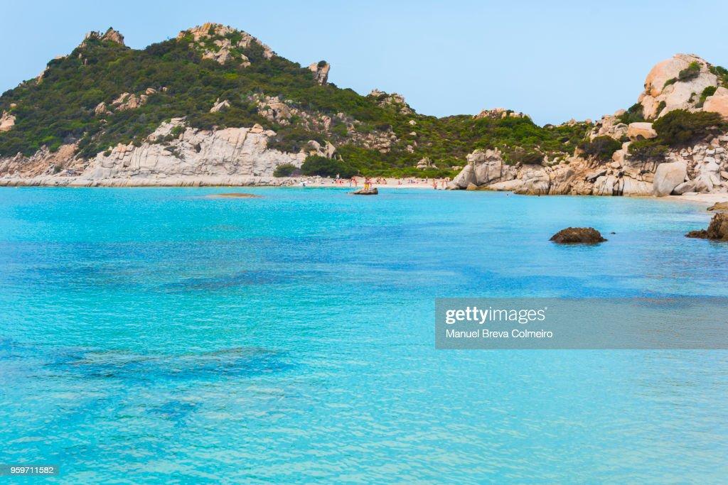 Cala Corsara, island of Spargi, La Maddalena Archipelago, Sardinia, Italy : Stock-Foto