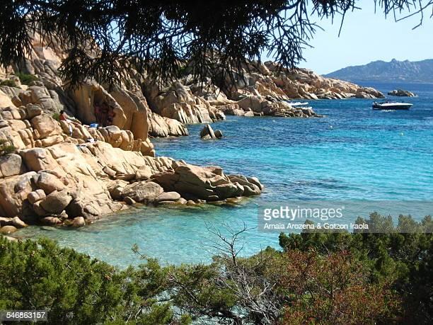 Cala Coticcio in the island of Caprera (Sardinia)