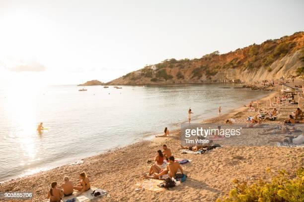 Cala D'Hort beach, Ibiza, Spain