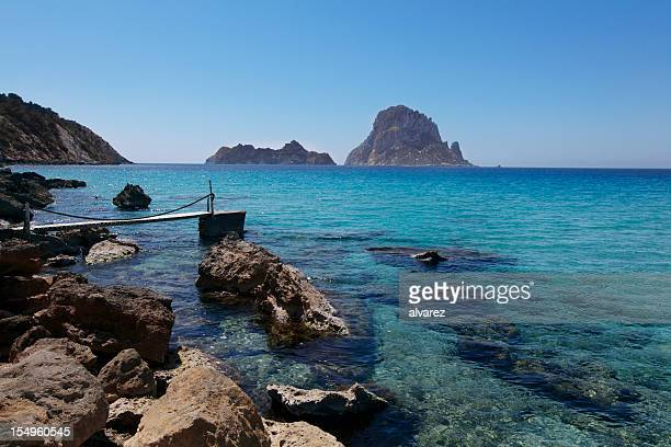 Cala d'Hort in Ibiza Spain