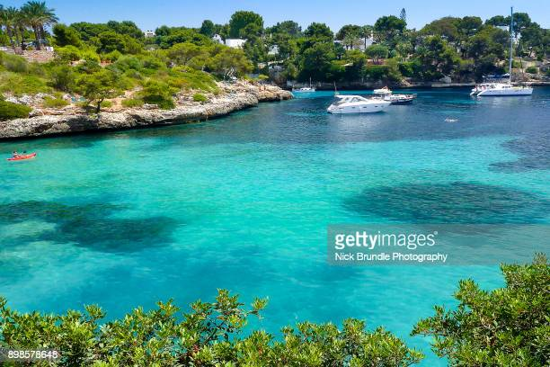 cala d'or, mallorca, spain - palma majorca stock photos and pictures