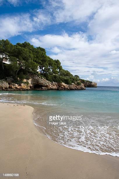 Cala Esmeralda beach.