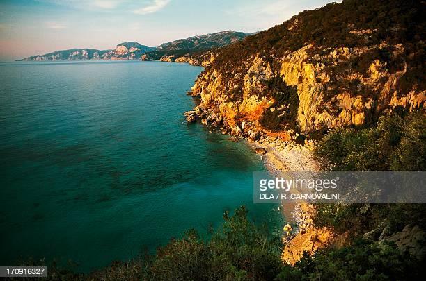 Cala Fuili cove Gulf of Orosei and Gennargentu National Park Sardinia Italy