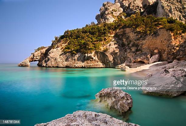 cala goloritze beach - sardinia stock pictures, royalty-free photos & images