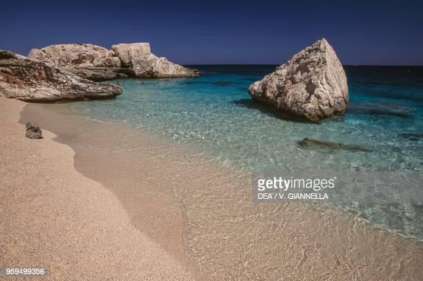 Cala Mariolu beach National Park of the Bay of Orosei and Gennargentu Ogliastra Sardinia Italy