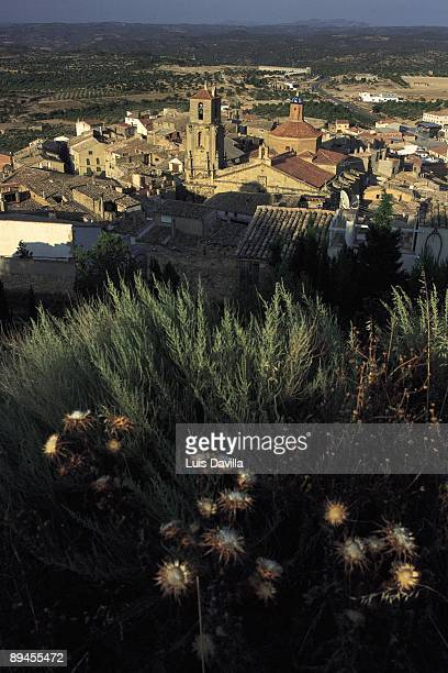 Calaceite village Panoramic view of Calaceite village Teruel province