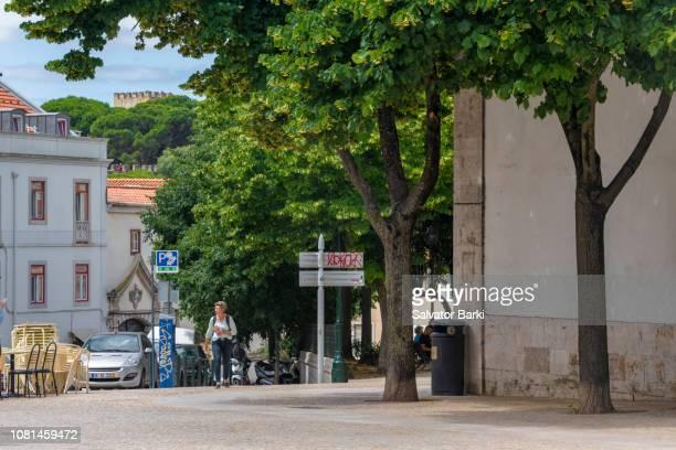 calçada da graça - calçada stock pictures, royalty-free photos & images